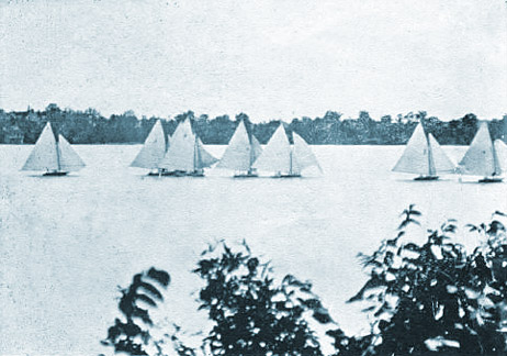 Historical Photo, Pine Lake Regatta
